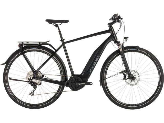 Cube Touring Hybrid EXC 500 E-trekkingcykel sort